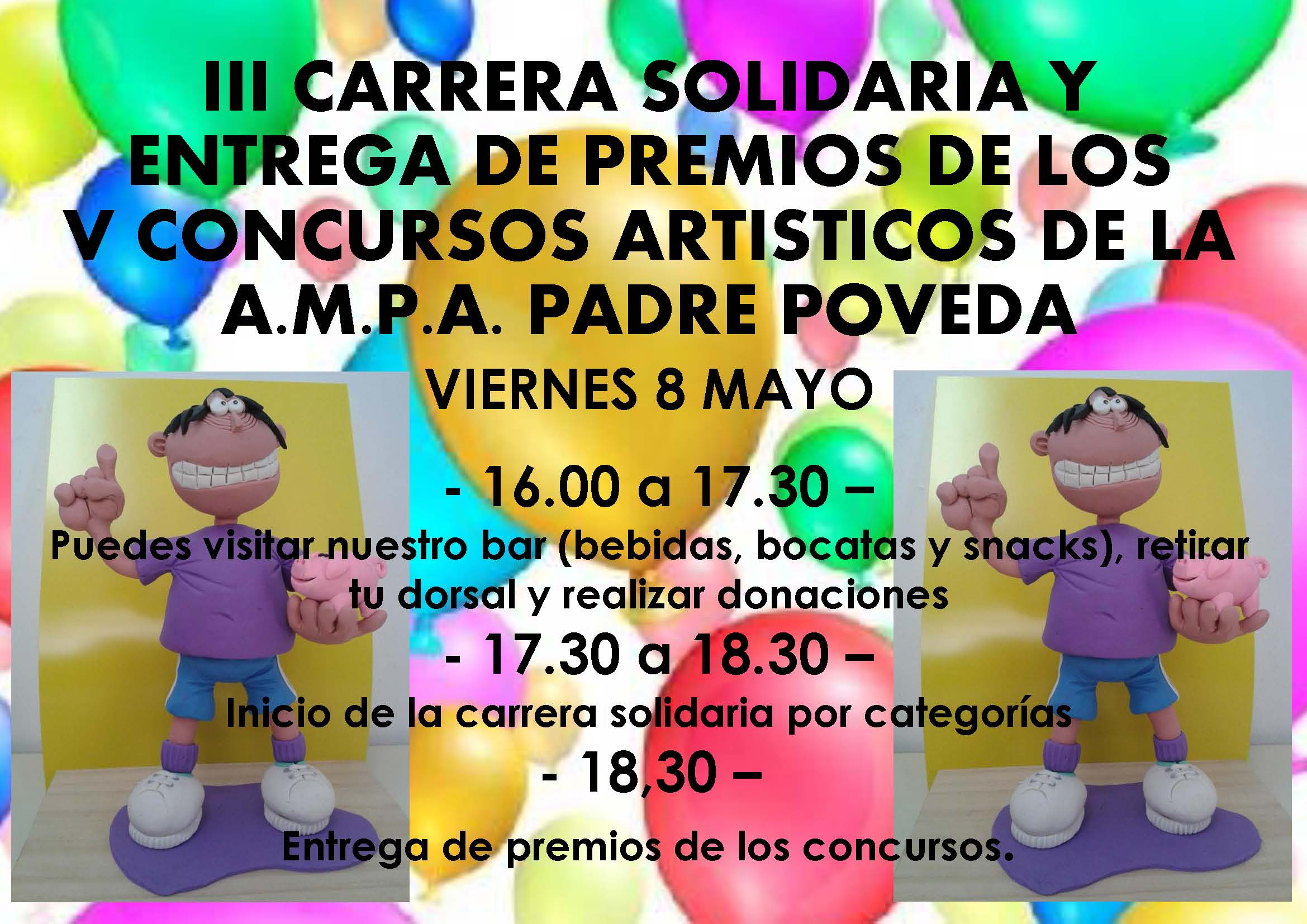 2015-05-08 CARTEL CARRERA SOLIDARIA